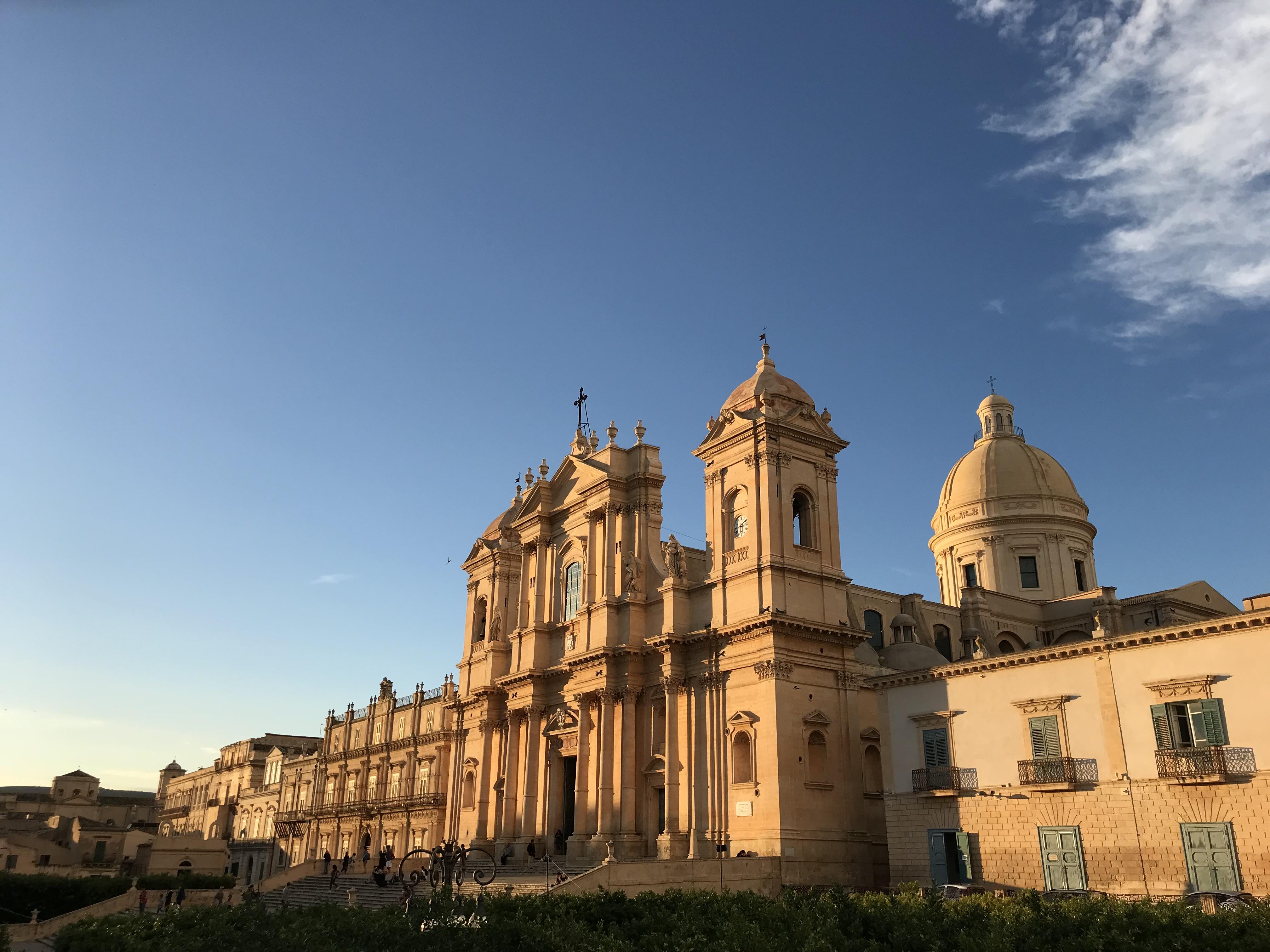 cattedrale-noto-tramonto