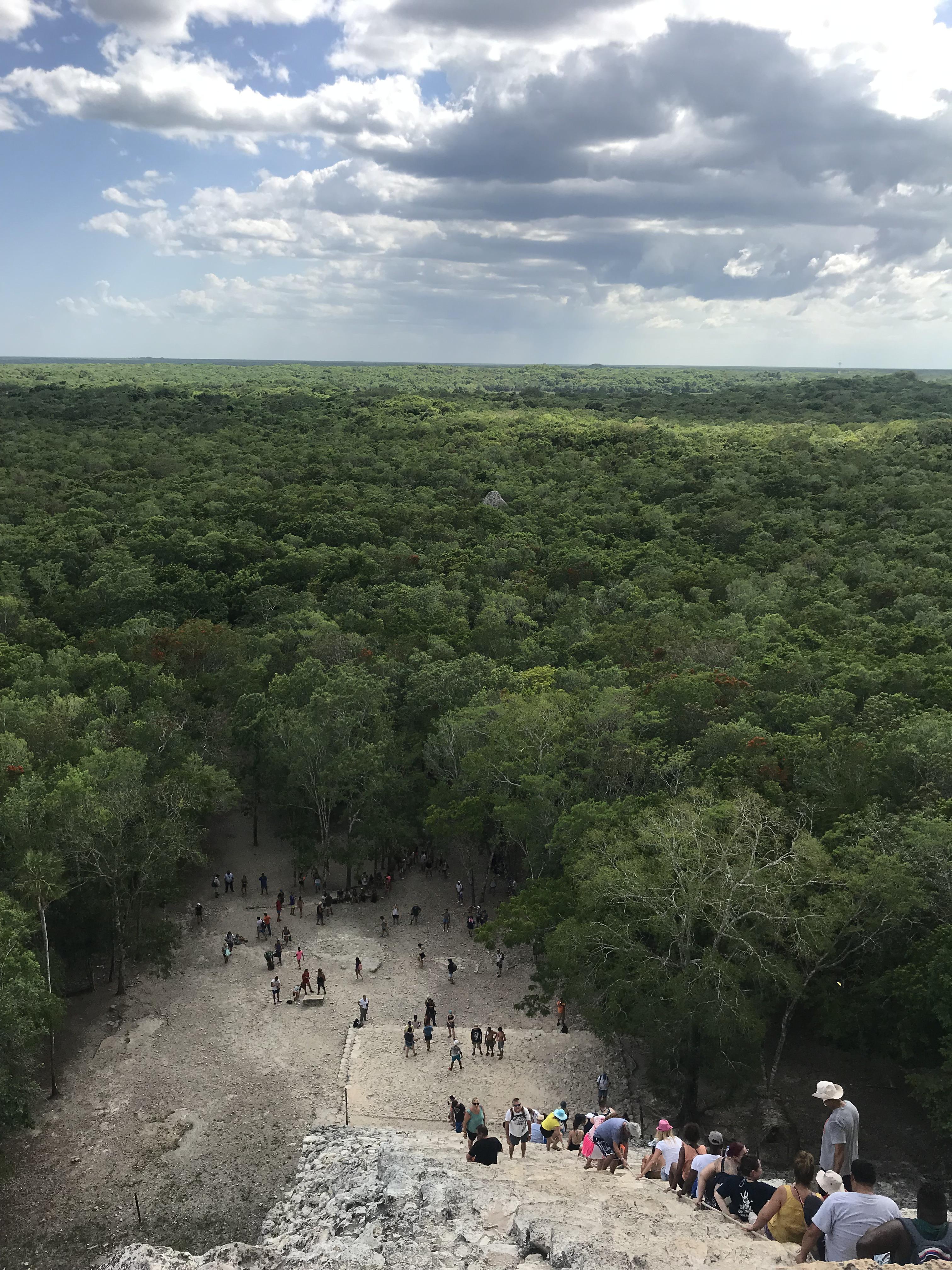 vista-piramide-nohoch-mul-cobá-quintana-roo-messico