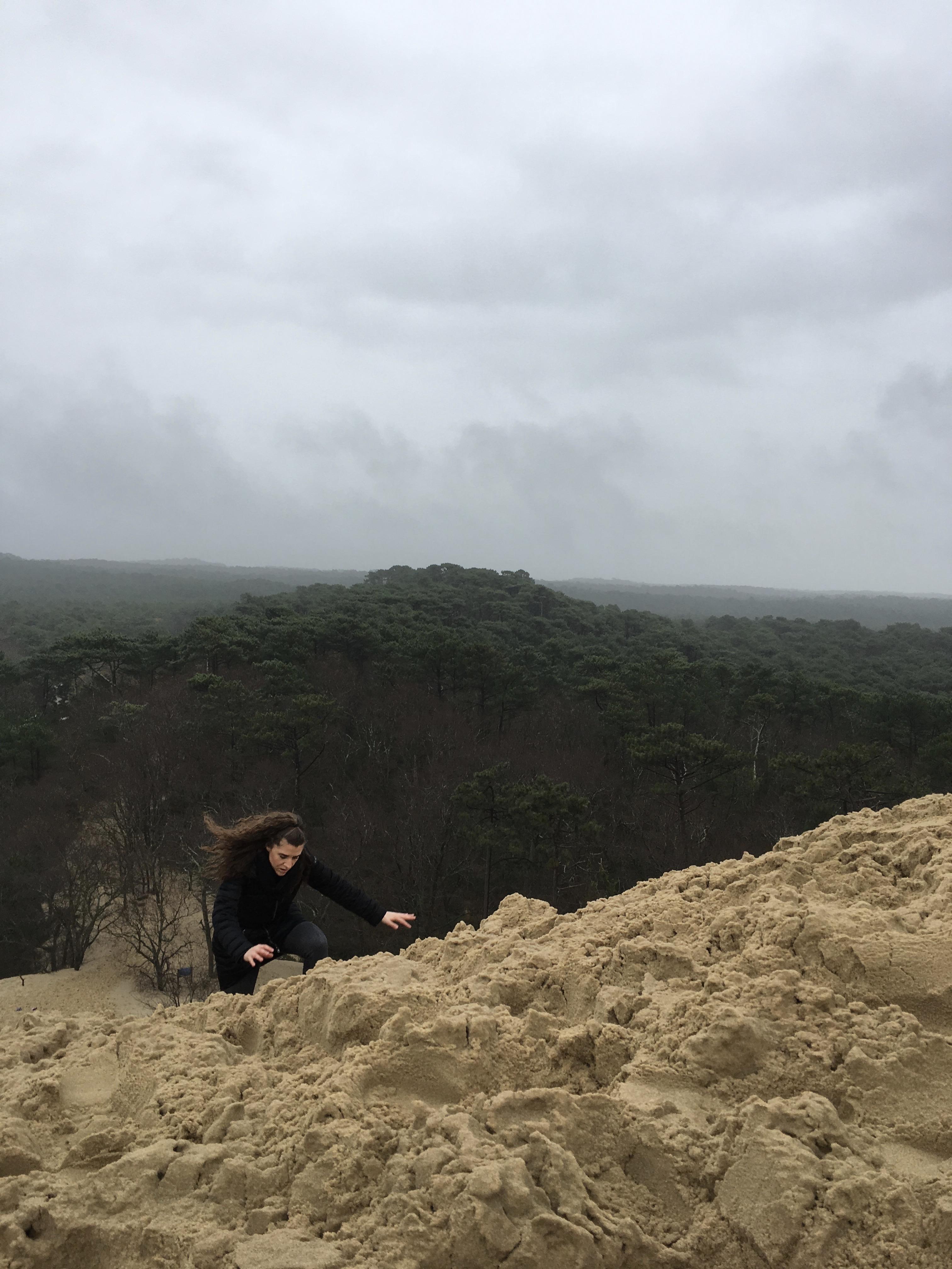 raggiungere-sommità-duna-pilat