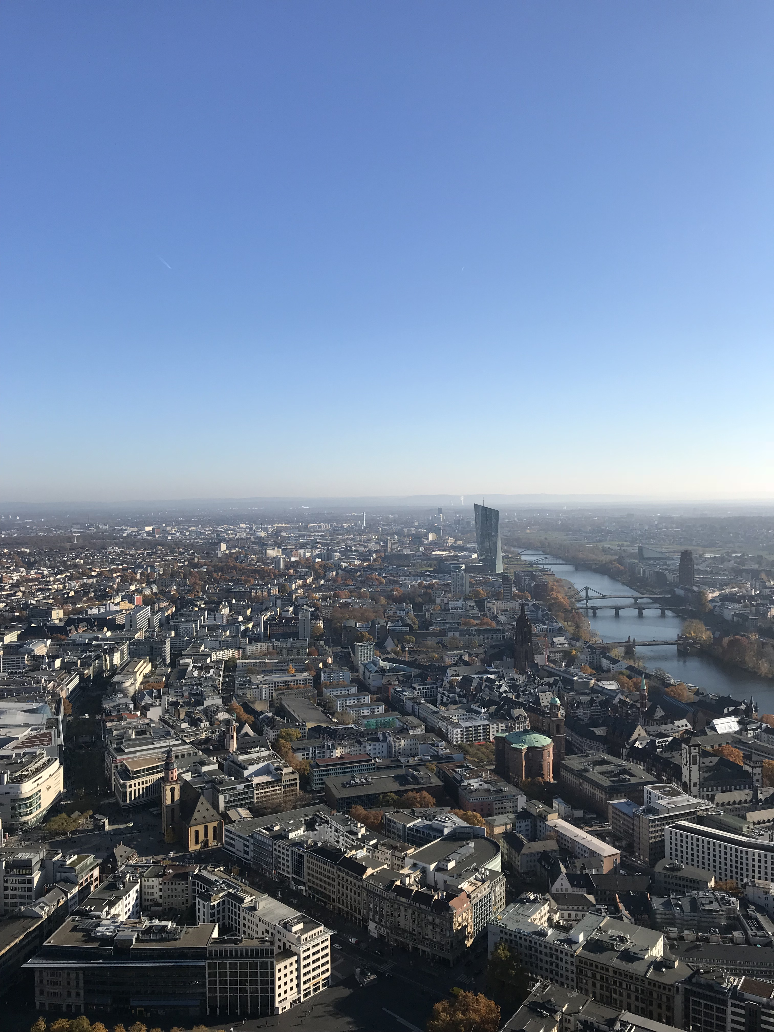 vista-francoforte-main-tower-germania