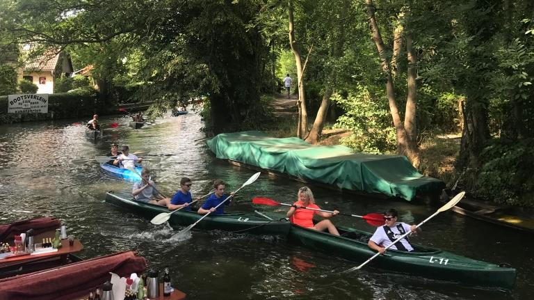 giro-kayak-gruppo-spreewald-brandeburgo