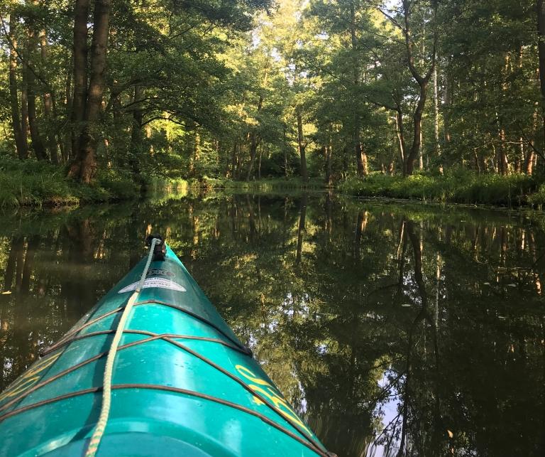 spreewald-in-kayak