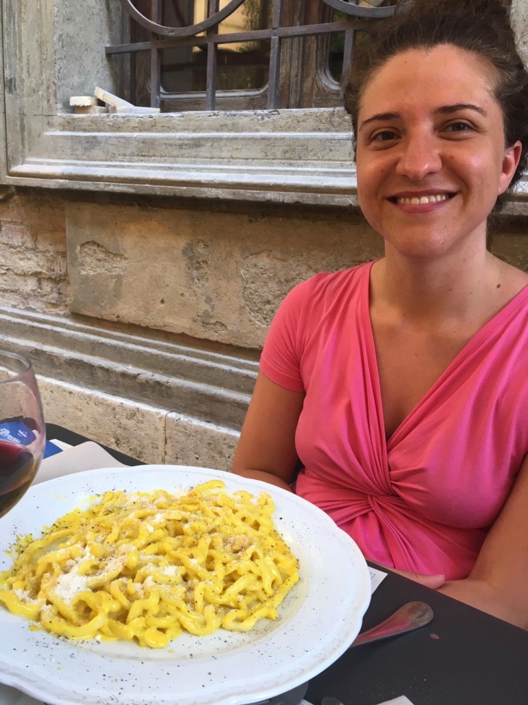 pici-zafferano-pancetta-buonconvento