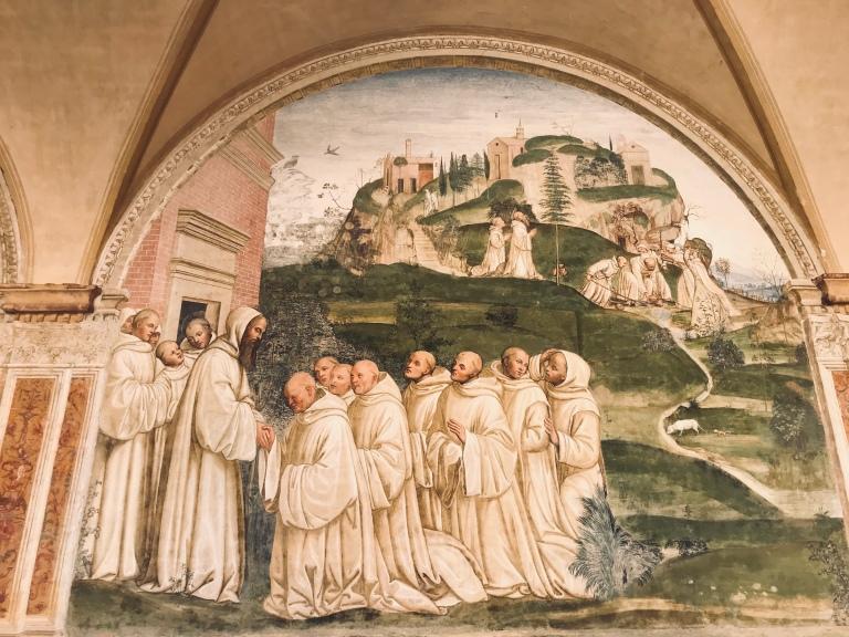 affreschi-abbazia-monte-oliveto-maggiore