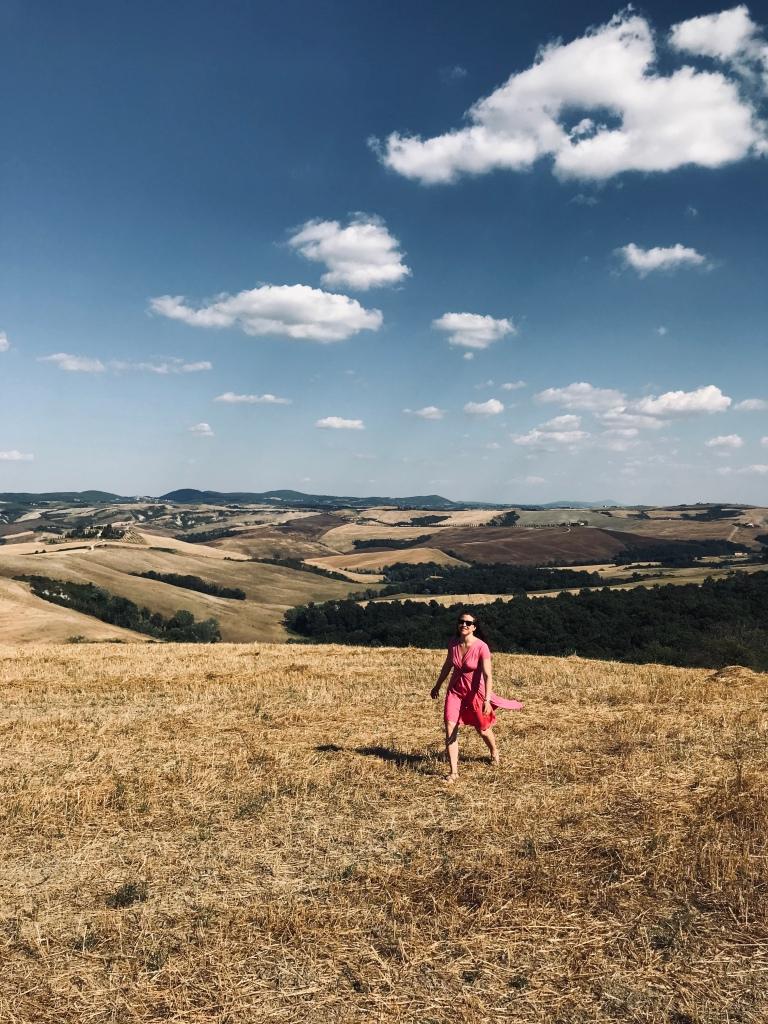 Le crete senesi, splendidi paesaggi toscani - Val d'Orcia, Toscana, Italia