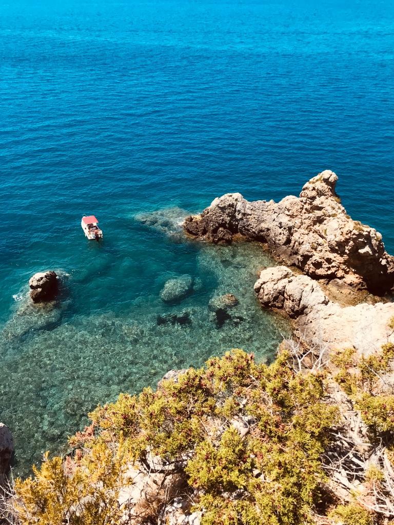 Il colore dell'acqua di Monte Argentario - Maremma, Toscana, Italia
