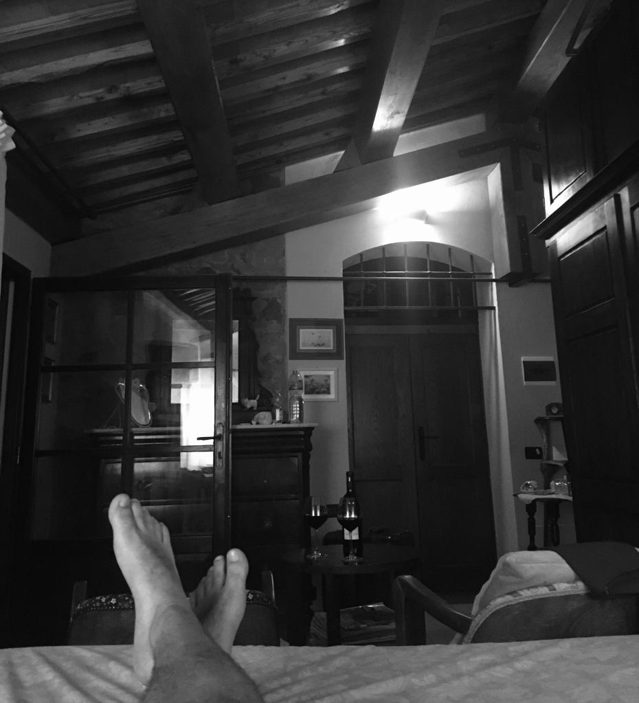 Momento di relax al bed and breakfast I Glicini - Castagneto Carducci, Toscana, Italia