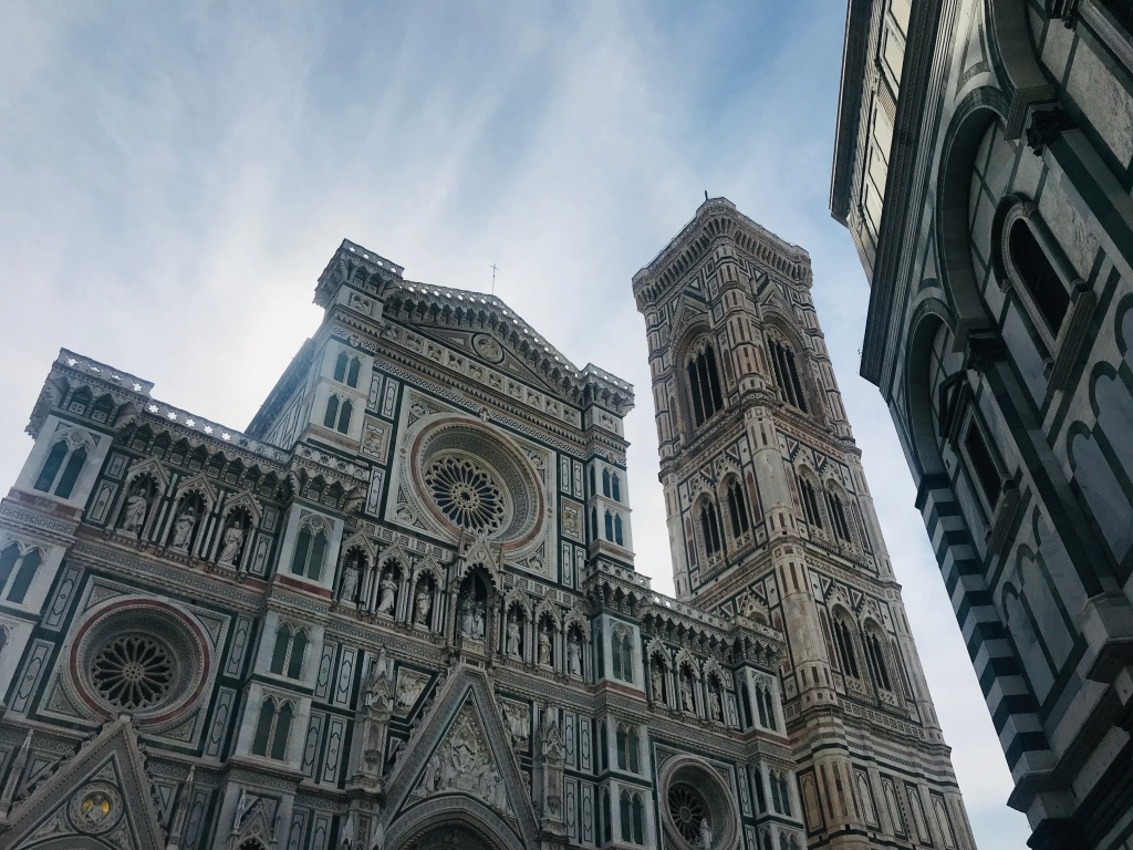 La facciata della Cattedrale di Santa Maria del Fiore - Firenze, Toscana, Italia