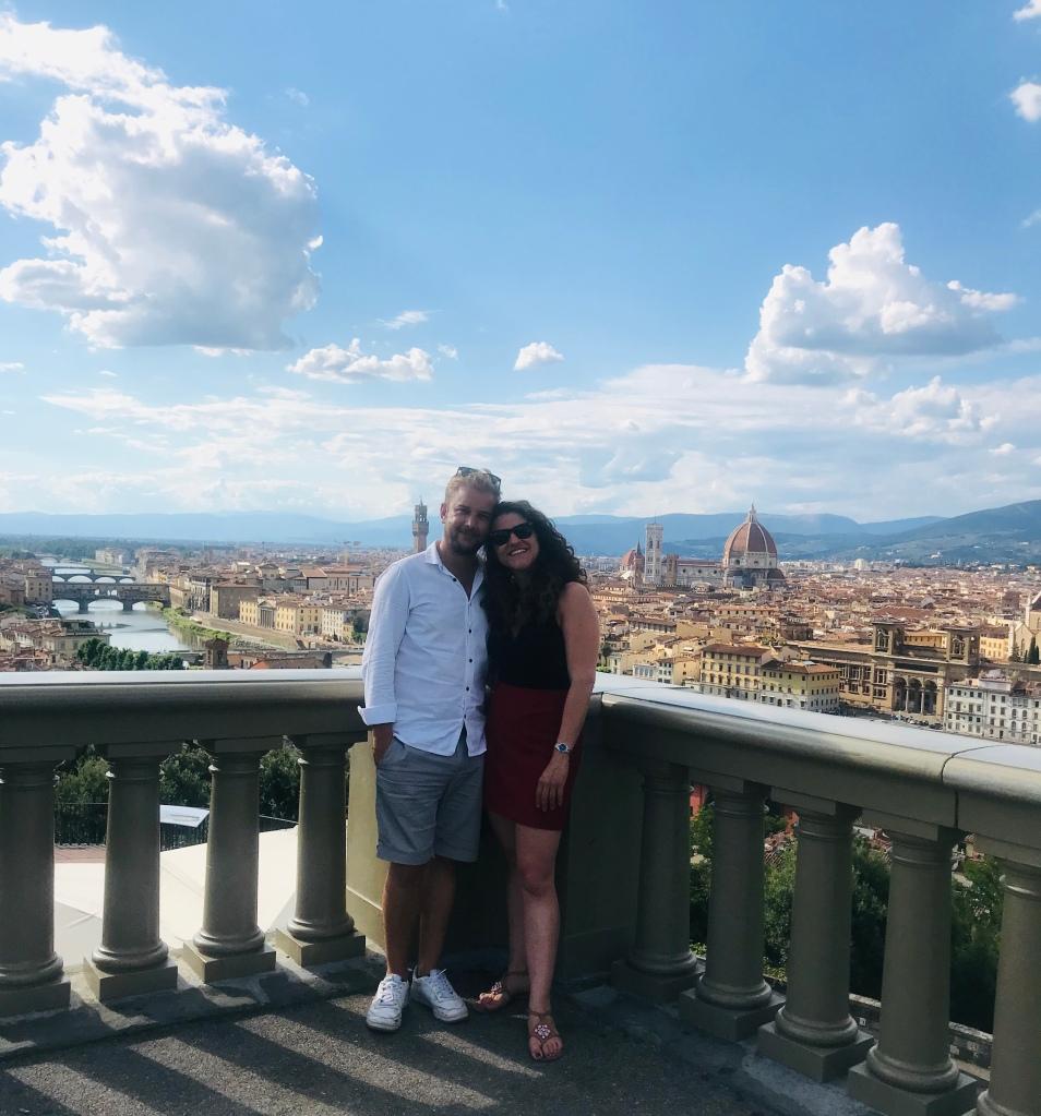 Innamorati a, e di, Firenze