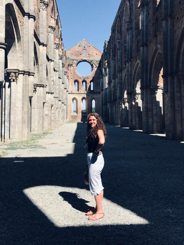 La splendida Abbazia di San Galgano - Chiusdino, Toscana, Italia