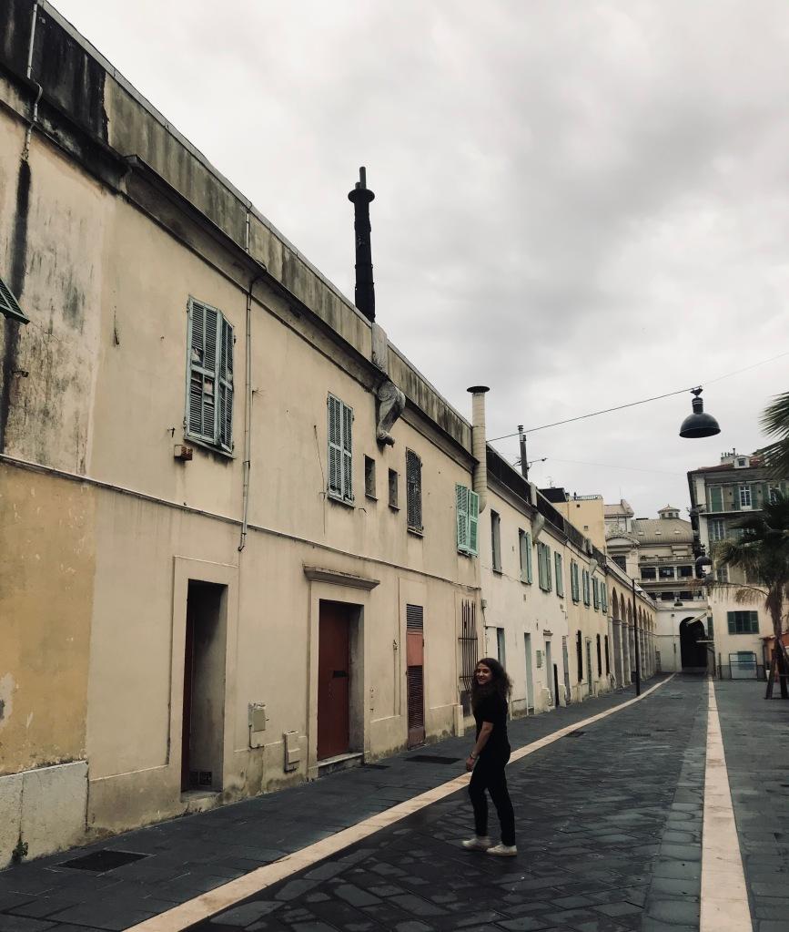 Uno dei miei punti preferiti di Nizza, Cours Jacques Chirac - Nizza, Costa Azzurra, Francia
