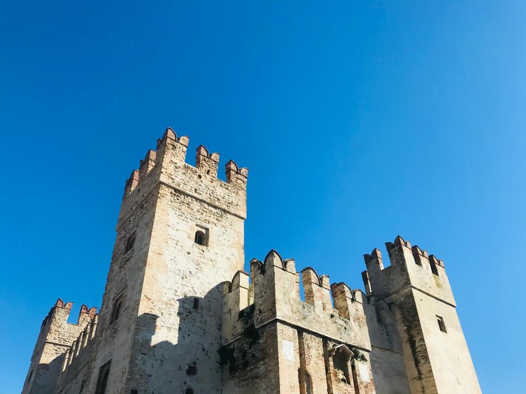 Il Castello Scaligero - Sirmione, Brescia, Italia