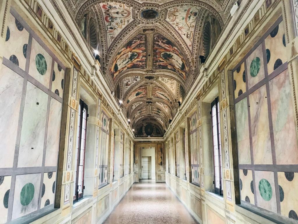 Il Corridoio dei Mori a Palazzo Ducale - Mantova, Lombardia, Italia