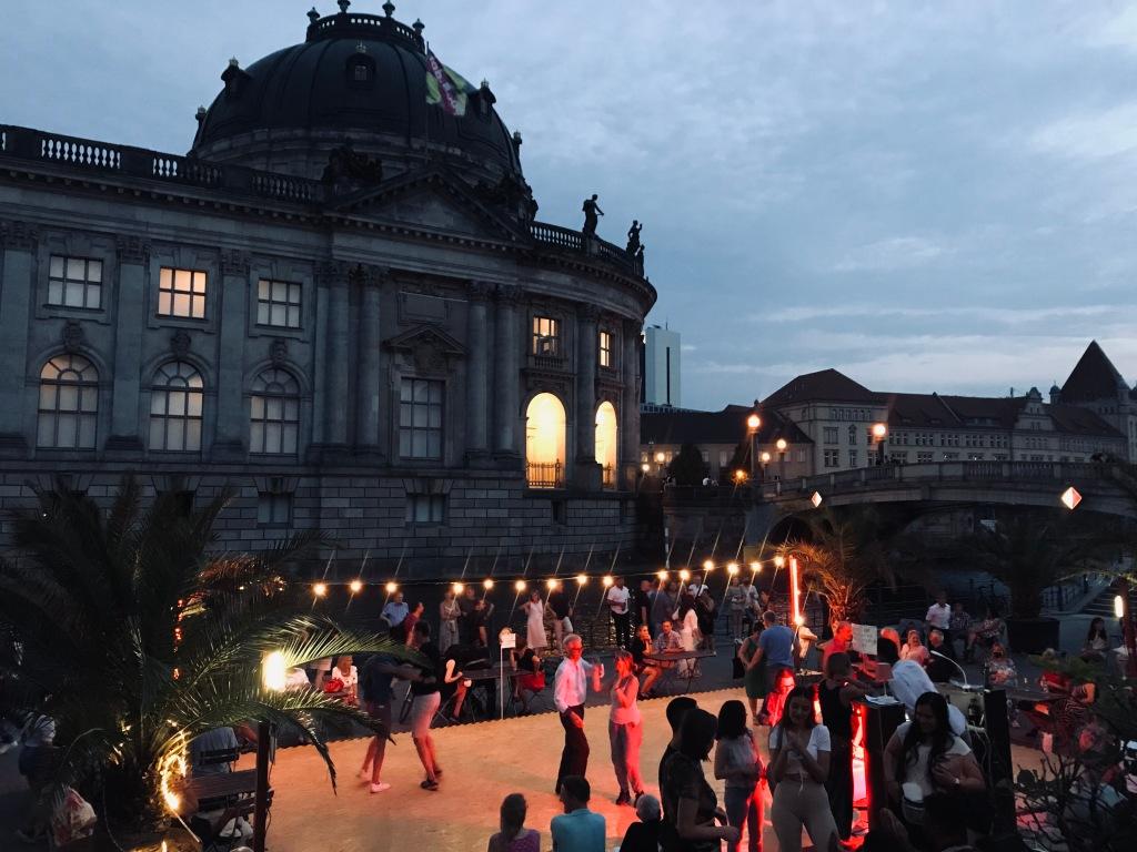 Serate danzanti al lungofiume - Monbijoupark, Berlino, Germania