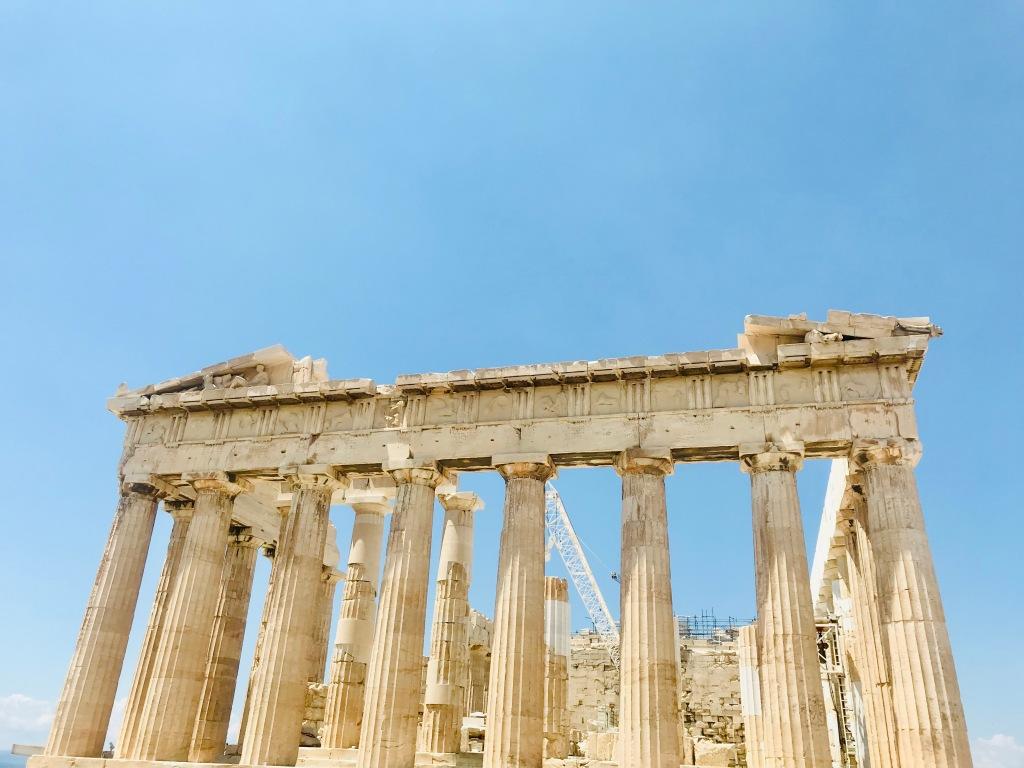 Lo splendido Partenone, simbolo della città - Atene, Grecia