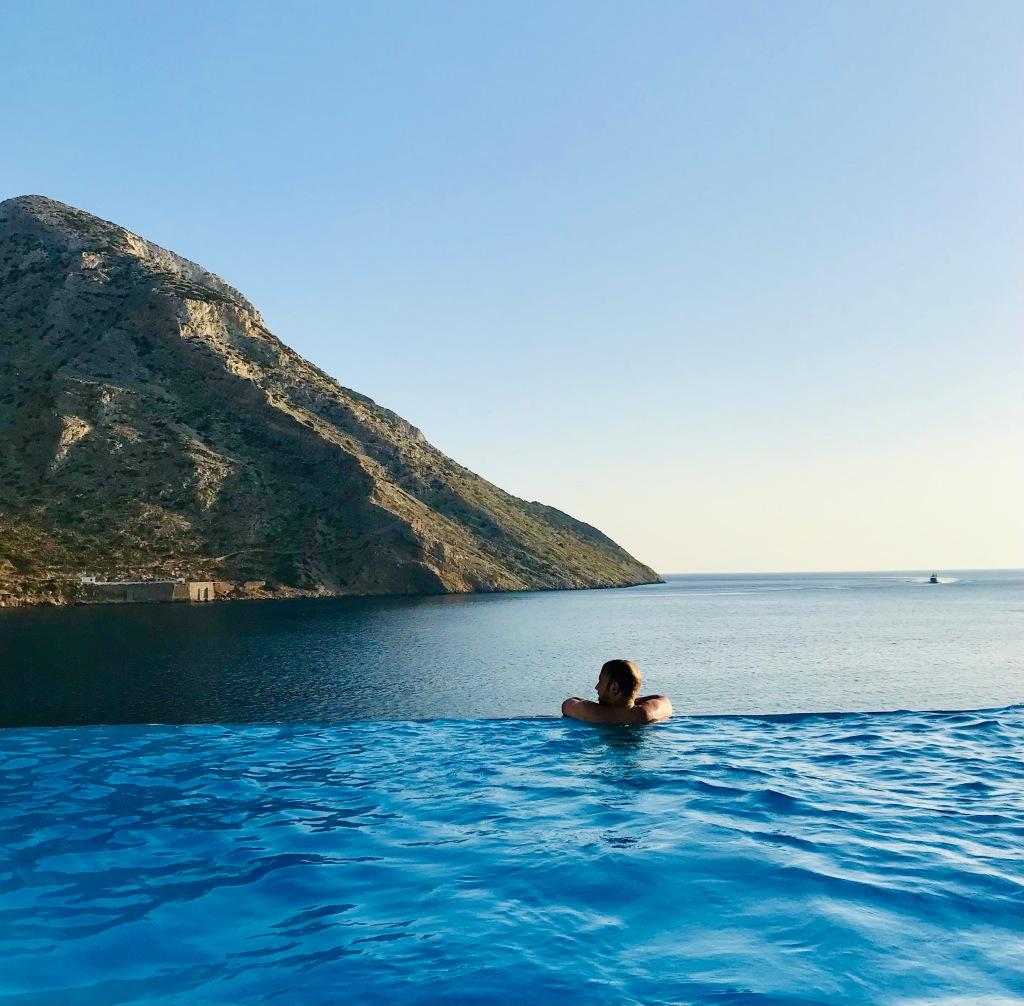 Infinity pool da sogno da 7 Seas - Sifnos, Isole Cicladi, Grecia