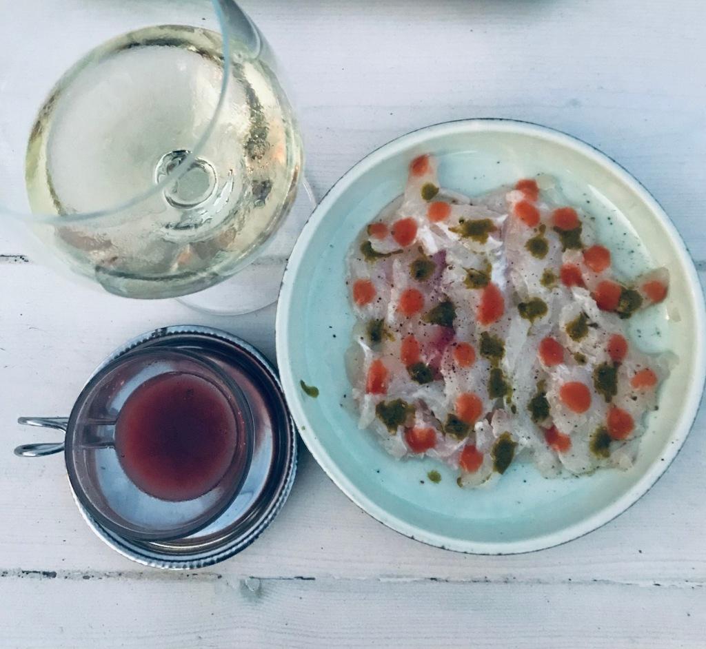 Cena gourmet da Omega 3 a Platis Gialos - Sifnos, Isole Cicladi, Grecia