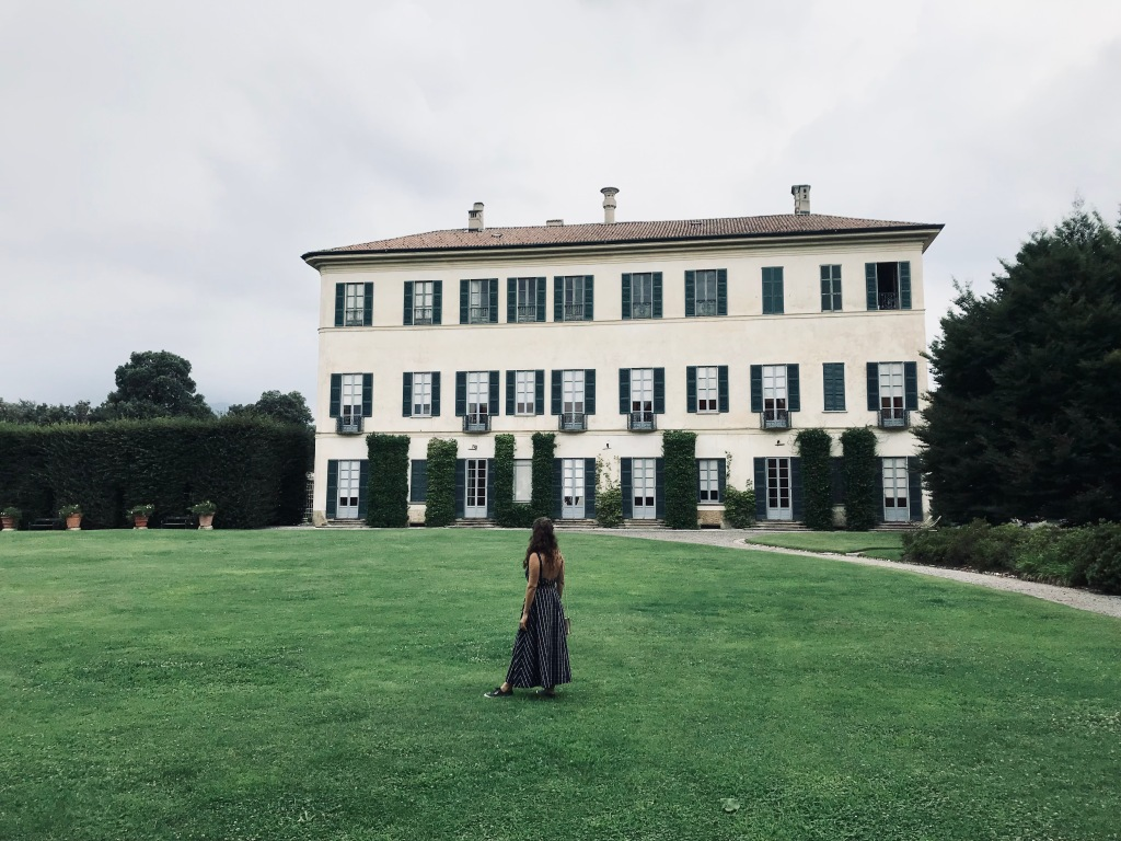 Un vero piacere: trascorrere qualche istante nel giardino all'italiana - Villa e Collezione Panza, Varese, Italia