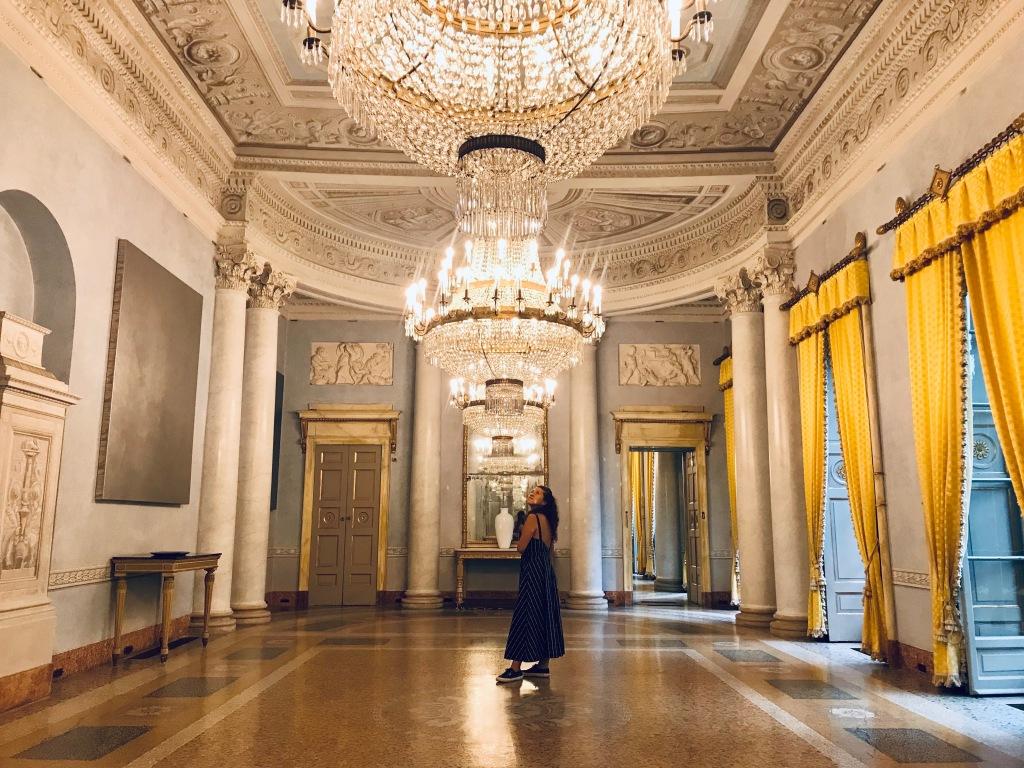 Le splendide sale di Villa e Collezione Panza - Varese, Italia