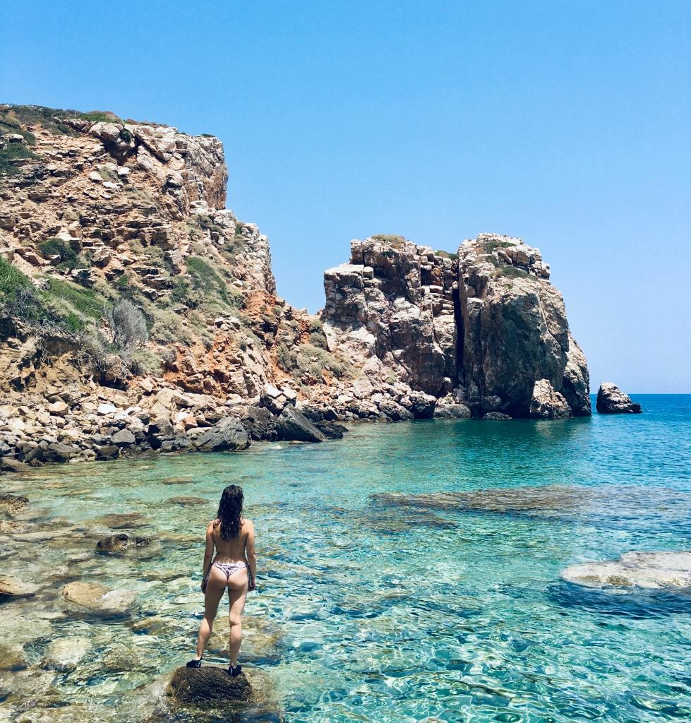 Un mare cristallino, quello della spiaggia Panagia Poulati - Sifnos, Isole Cicladi, Grecia