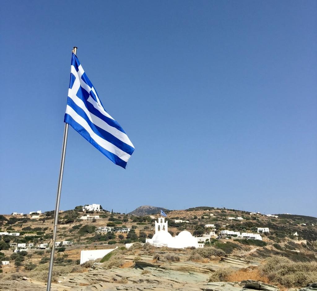 Il Monastero di Chrisopigi - Sifnos, Isole Cicladi, Grecia