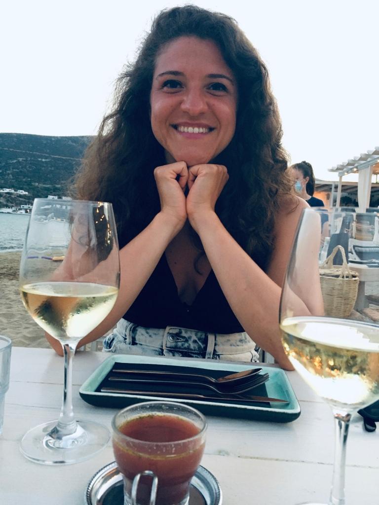 Felicissima di cenare da Omega 3 - Sifnos, Isole Cicladi, Grecia